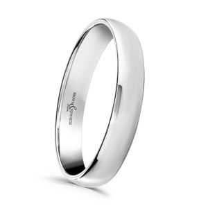 Preview image of Platinum 2.5mm Lightweight Court Ladies Wedding Ring