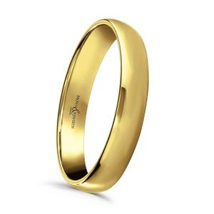Preview image of 9ct Gold 3mm Lightweight Court Ladies Wedding Ring