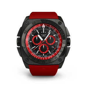 Preview image of Aviator MIG-29 Red Chrono Red Strap Gents Watch