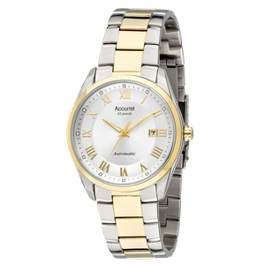 Preview image of Accurist Men's Automatic Two Tone Bracelet Watch