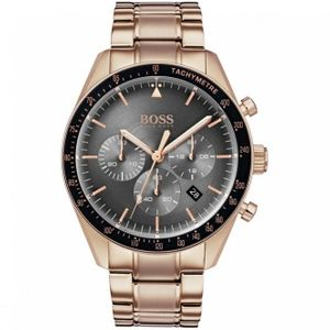 Preview image of Hugo Boss Trophy Rose Gold Plated Chronograph Watch