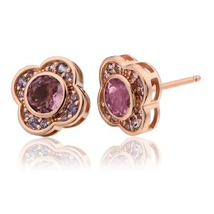 Preview image of Clogau Rose Gold Jewel Bloom Earrings