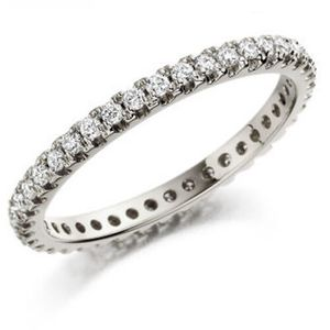 Preview image of 18ct White gold eternity ring