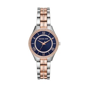 Preview image of Michael Kors Lauryn Two-Tone Blue Ladies Bracelet Watch