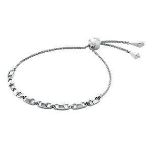 Preview image of MICHAEL KORS Rhodium Plated Sterling Silver Mercer Link Slider Bracelet