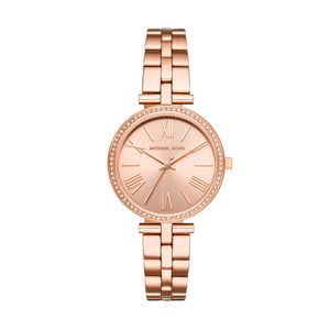 Preview image of Michael Kors Maci Rose Gold Tone Ladies Bracelet Watch