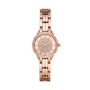 Preview image of Michael Kors Ladies 28mm Allie Rose Gold Plated Bracelet Watch