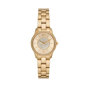 Preview image of Michael Kors Slim Runway Yellow Gold Tone Ladies Watch