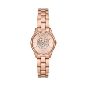 Preview image of Michael Kors Slim Runway Rose Gold Tone Ladies Watch