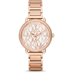 Preview image of Michael Kors Mother Of Pearl Logo Watch