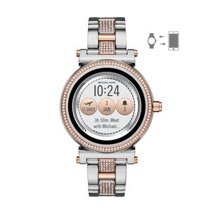 Preview image of Michael Kors Access Steel & Rose Tone Smartwatch