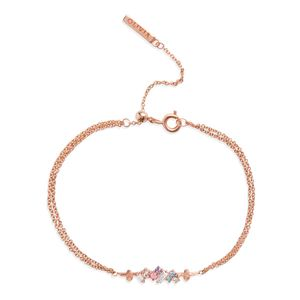 Preview image of Olivia Burton Rainbow Bee Rose Gold Bracelet