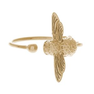 Preview image of Olivia Burton 3D Bee Gold Ring