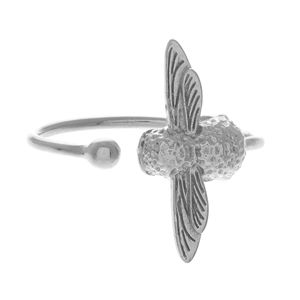 Preview image of Olivia Burton 3D Bee Silver Ring