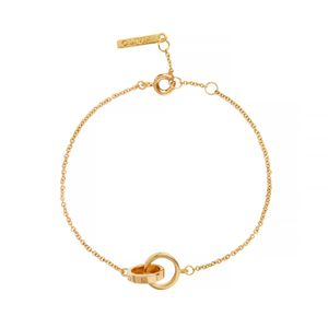 Preview image of Olivia Burton The Classics Interlink Gold Bracelet