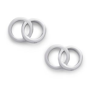 Preview image of Olivia Burton Classics Interlink Silver Earrings