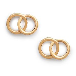 Preview image of Olivia Burton Classics Interlink Gold Earrings
