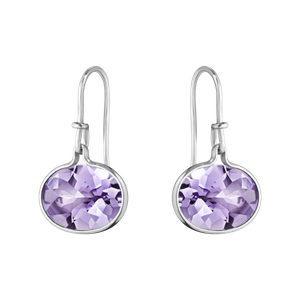 Preview image of Georg Jensen Sterling Silver Savannah Amethyst Drop Earrings