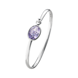 Preview image of Georg Jensen Savannah Amethyst Bangle