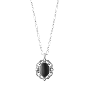 Preview image of Georg Jensen Heritage Black Onyx Pendant