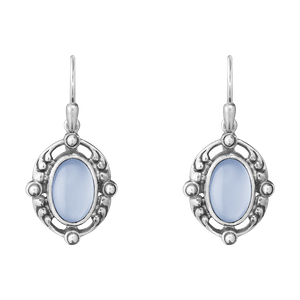 Preview image of Georg Jensen Heritage Chalcedony Drop Earrings