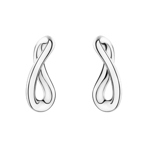 Preview image of Georg Jensen Sterling Silver Infinity Earrings