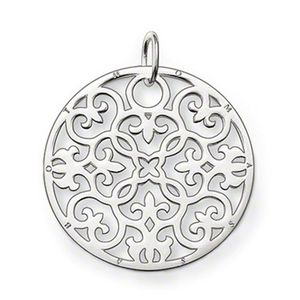 Preview image of Thomas Sabo Large Filigree Disc Pendant