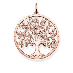 Preview image of Thomas Sabo Rose Gold Plated Tree of Love Pendant
