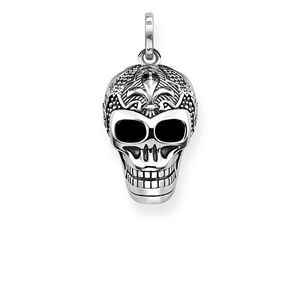Preview image of Thomas Sabo Lily Skull Pendant