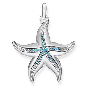 Preview image of Thomas Sabo Ocean Stars Zirconia Starfish Pendant