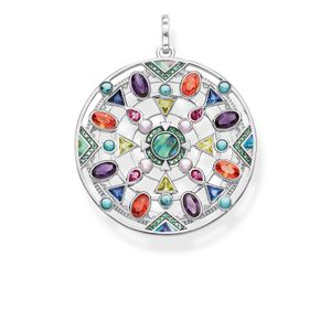 Preview image of Thomas Sabo Sterling Silver Amulet Multi-Stone Pendant