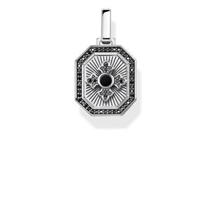 Preview image of Thomas Sabo Sterling Silver Ornamental Cross Pendant