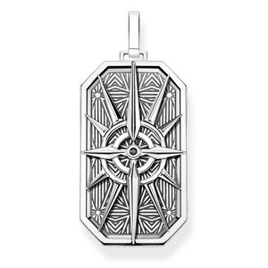 Preview image of Thomas Sabo Silver Rebel Compass Star Pendant