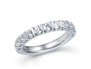 Preview image of 18ct White Gold 1.00ct Diamond Eternity Ring