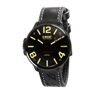 Preview image of U-Boat Capsoil DLC Black 8108/A Strap Watch