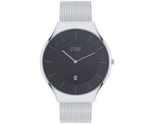 Preview image of Storm Reese XL Slate Black Mesh Bracelet Watch