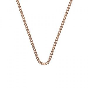 "Preview image of Hot Diamonds Rose Gold 30"" Curb Chain"