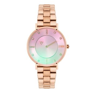 Preview image of Storm Rina Rose Gold Plated Lazer Pink Watch