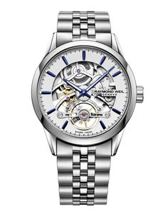 Preview image of Raymond Weil Freelancer Skeletal Automatic Gents Bracelet Watch