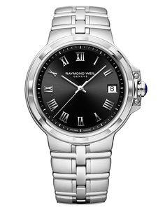 Preview image of Raymond Weil Gents Parsifal Black Bracelet Watch