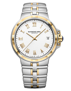 Preview image of Raymond Weil Gents Parsifal Steel and Gold Bracelet Watch