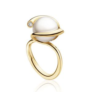 Preview image of Georg Jensen Gold Magic Pearl Ring
