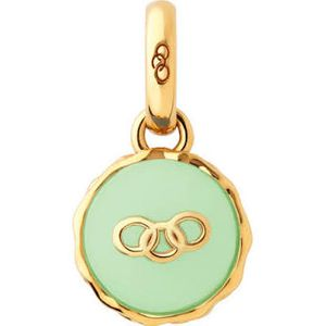 Preview image of Links of London 18kt Yellow Gold Vermeil Pistachio Macaron Charm