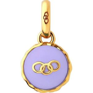 Preview image of Links of London 18kt Yellow Gold Vermeil Lavender Macaron Charm
