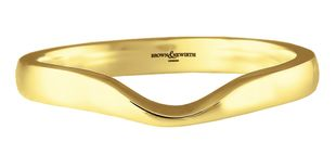 Preview image of 9ct Gold 2mm Shaped To Fit Ladies Wedding Ring