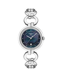 Preview image of Tissot Flamingo Black Mother of Pearl Ladies Watch