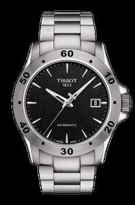 Preview image of Tissot Automatic V8 Swissmatic Black Dial Bracelet Watch