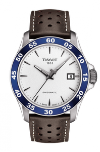 Preview image of Tissot Automatic V8 Swissmatic White Dial Strap Watch