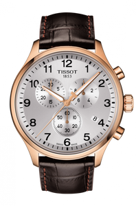 Preview image of Tissot Chronograph XL Classic Rose Gold Strap Watch