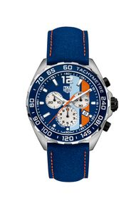 Preview image of Tag Heuer F1 Gulf Oil Special Edition Strap Watch